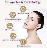 Terapia dispositivo ultrasuoni 6 modi ad ultrasuoni massaggiatore Anti rughe Anti Aging Acne Cura viso portatile USB ricaricabili mesoterapia bellezza