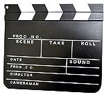 claqueta de cine 30x27cm