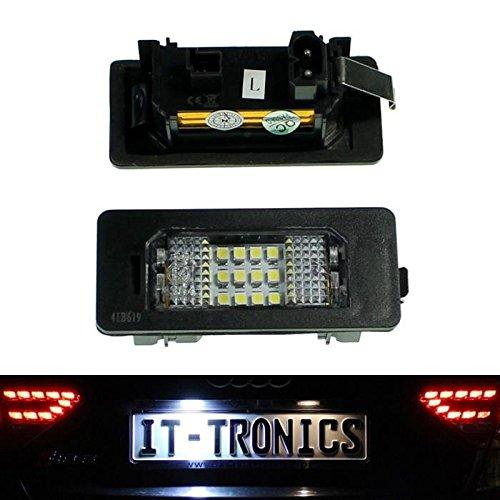 Kennzeichenbeleuchtung LED passend für BMW 1, 3 E90-93, 5 E39, E60/E61, X5, X6