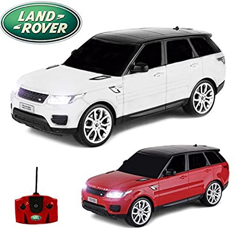Comtechlogic® CM-2216 Official Licensed 1:18 Range Rover Sport Radio Controlled RC Electric Car Ready To Run EP RTR (WHITE)