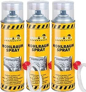 Chamäleon Hohlraum 500ml Spray Versiegelung Hohlraumschutz 1k Hohlraumversiegelung Hohlraumkonservierer SprÜhdose 3 Auto