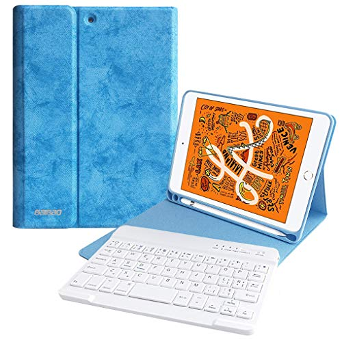 Funda iPad Mini 5/Mini 4 Teclado Español Ñ, Funda