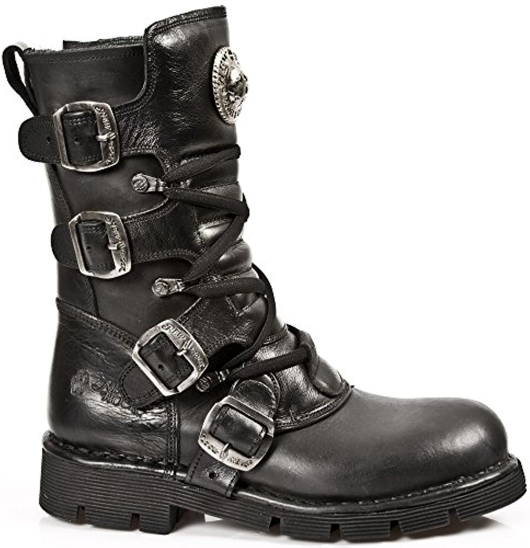 New Rock M 1473 S1  Unisex Erwachsene StiefelNew Rock Unisex Erwachsene Stiefel Schwarz Billig und erschwinglich Im Verkauf