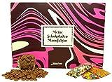 bakeryteam Meine Schokoladen Manufaktur DIY Schokoladenselbermachset Vollmilch Kakao 38 Prozent zartschmelzend (Vollmilchschokolade) in Geschenkverpackung