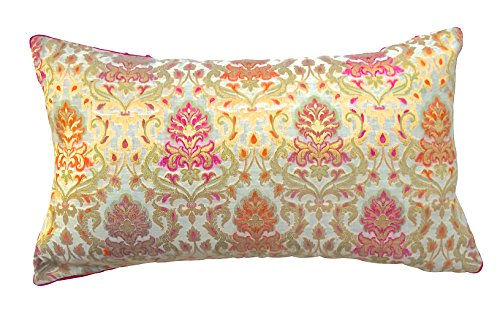 the-indian-promenade-24-x-14-cm-pure-soie-chanderi-housse-de-coussin-beige-orange