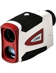 Lstar Télémètre laser pour golf et chasse, Range Finder pour la Distance, DE LA Vitesse, Hampe Scan, 600m 599,8m, 7x 26mm, étanche à l'eau