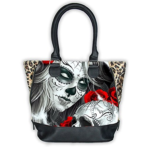 Bolso gran modelo Eternal Bliss pin-up Rockabilly estilo Tattoo...