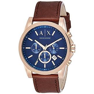 Un/X Armani intercambio bancos de exterior reloj