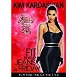 KIM KARDASHIAN Fit in Your Jeans by Friday 3 10-Minute Step Workouts to Define Your Legs and Butt! [DVD]