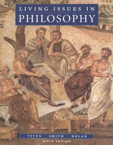 Living Issues in Philosophy by Harold Titus (1994-08-19)