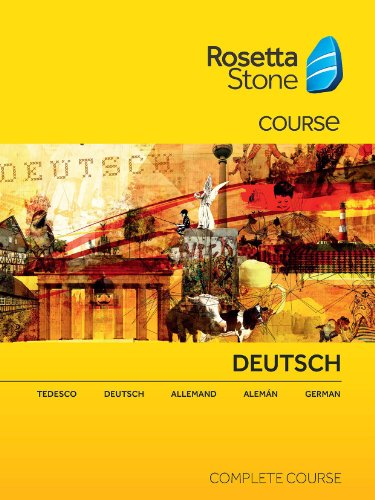 Rosetta Stone German Complete Course MAC  [Download] Test