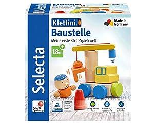 Selecta 62075 Klettini - Juego de construcción con Velcro (8 Piezas)
