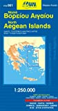 Aegean Islands North 1 : 250 000