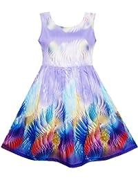 Sunny Fashion - Vestido para niña morado