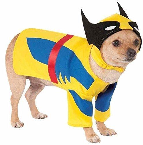 Haustier Hund Katze Wolverine Super Hero Halloween Weihnachten Kleidung Kostüm Kleid Outfit - (Heroes Halloween Kostüme)
