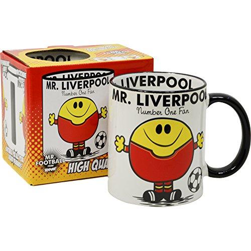 Pop-Art-Products Herr Liverpool Tasse Fußball Geschenk Idee MR Men Parodie Kaffee Tee Tasse