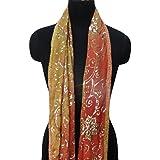 dupatta indio cosecha tejido bordado a mano materiales utilizados abrigo de la bufanda bufandas nupciales del velo hijab decoración malva