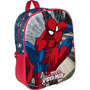 51cXeenSpmL. SS300  - Star Licensing Marvel Spiderman Mochila Mediana, 32 cm, Multicolor