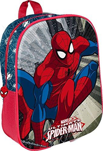 Star licensing marvel spiderman zainetto medio, 32 cm, multicolore