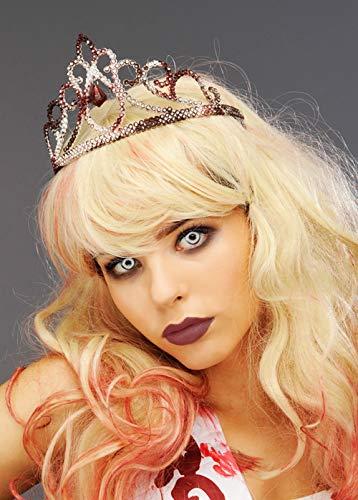 ie Prom Queen Silber blutigen Tiara ()