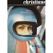 Christiane n° 255 - juin 1971 - Marie-Claude Beaumont, pilote de rallye (couverture)/Les cent mille vies de Boris Vian/Libye/Grieg