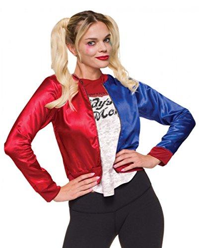Horror-Shop Pelotón del suicidio Harley Quinn chaqueta de traje L