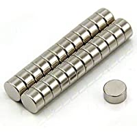 """N52 Neodymium Cylinder Fridge Magnets (30 pcs) 