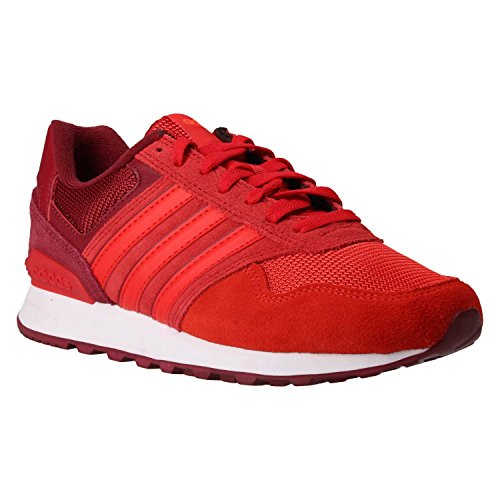 adidas Herren 10k Gymnastikschuhe, Mehrfarbig (Multicolore Collegiate Burgundy/Core Red S17/Solar Red Collegiate Burgundy/Core Red S17/Solar Red), 39 1/3 EU