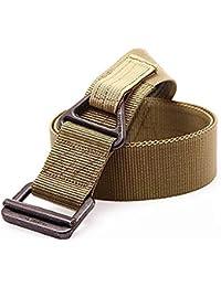 Fairwin Cintura Tattica, Stile Militare Cintura in Tessuto Stiloso Intrecciato Riggers con Fibbia in Metallo Durevole e a Rilascio Rapido in Fantastica Confezione Regalo
