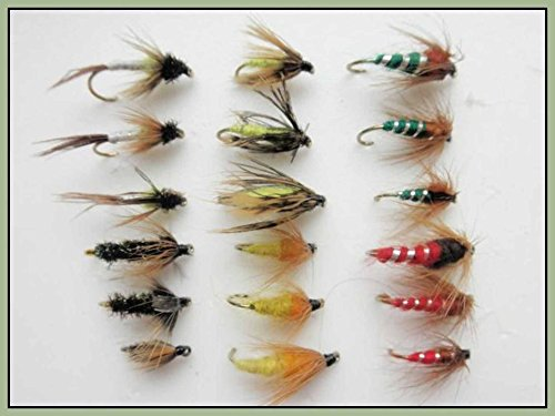 18-nymph-fishing-flies-6-varieties-pupa-sedge-caddis