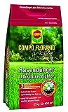 Compo Rasenpflege Floranid dünger plus Unkrautvernichter 12 kg für 400 m²