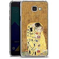 Samsung Galaxy A5 (2016) Housse Étui Protection Coque Klimt Le Baiser Art