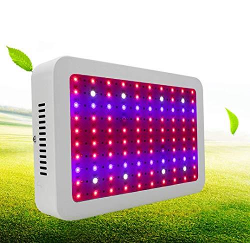 Sallypan 1000W LED wachsen Licht, 100Leds rotes blaues Spektrum-Betriebslicht mit AN/AUS-Schalter und hängender Kette für Zimmerpflanze-Gewächshaushydroponik Veg