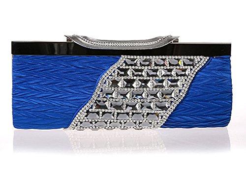 borsa diamante semplificata/Frizione di lusso/Di alta qualità per banchetti/borse da sera Ms./pacchetto nuziale-E E