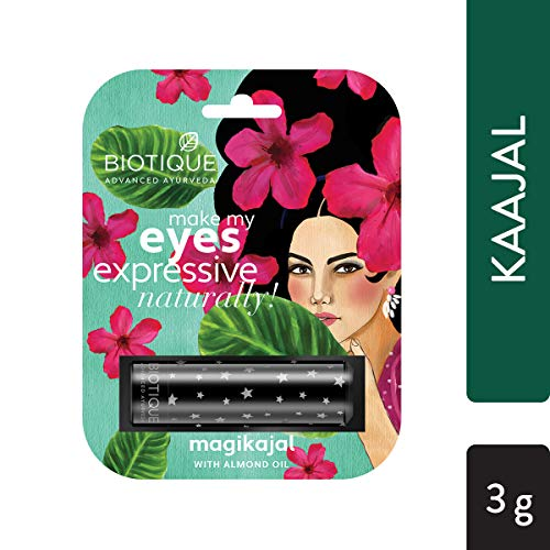Biotique Kaajal Almond aceite Delineador de ojos