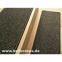 BELLOstepsR Stufenmatte Selbsthaftend In Ubergrosse 70x23 Cm Cayenne Braun