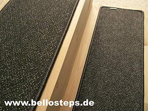 BELLOsteps Stufenmatte Selbsthaftend In Ubergrosse 70x23 Cm Cayenne Braun 13 Stck Set