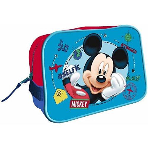 Disney Trousse de Toilette Carré 17x25x10 Cms. Mickey, AST4182