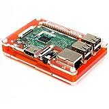 Pibow 3 Tangerine Coupé - ein superflaches, hackbares und attraktives Gehäuse für Raspberry Pi