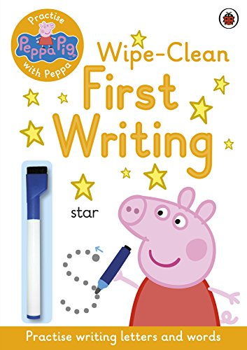 Peppa Pig: Practise with Peppa: Wipe-Clean First Writing Test