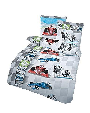 Bettbezug Set mit Rennwagen Motiv von Träumschön | verschiedene Rennwagen