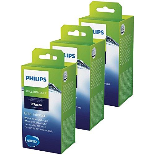 Saeco Intenza+ - Cartuchos para filtros de agua para cafeteras automáticas 3 unidades