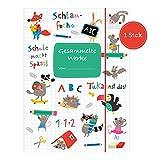 Sammelmappe für Kinder, Kindergarten, Kinderzeichnungen, DIN A4, mit Tieren zum Abheften in der Schule I Design von Nastja Holtfreter