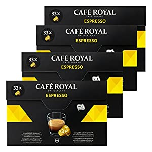 Café Royal Espresso, Caffè, Caffè Tostato, Capsule, Nespresso connettore, 132Capsule 2
