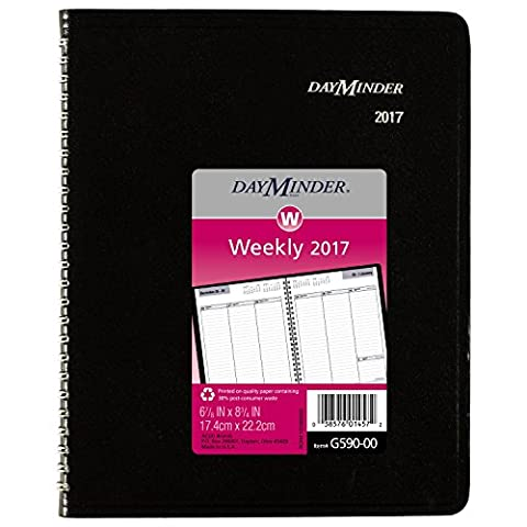 AAGG59000 - Recycled Weekly Planner by AT-A-GLANCE (English Manual)