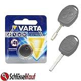 VARTA Schlüssel Batterie für Ford Autoschlüssel...