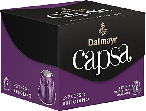 Dallmayr Kaffee capsa Espresso Artigiano Kaffeekapseln, 5er Pack (5 x 10 Kapseln)