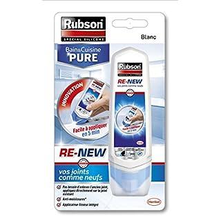 Rubson 2217281Renew Spachtelmasse für Badezimmer und Küchen, weiß, RE-NEW