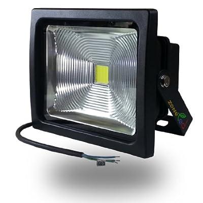 V-tac Led Fluter Scheinwerfer Strahler 30w Wei 6000k Epistar Led-chip Premium Reflektor Ip65 Gehuse Graphit Ersetzt 240w Hallogenlampe von V-TAC