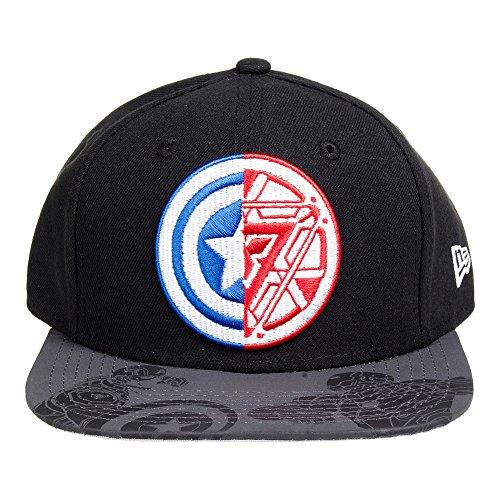 Captain America Guerre Civile 9Fifty - Casquette Snapback - Noir Black